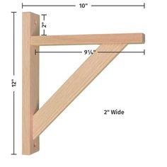 Woodworking Projects That Sell Wall Mounted Wood Shelves, Wooden Shelf Brackets, Folding Shelf Bracket, Wooden Shelves, Wood Shelf, Woodworking Projects That Sell, Woodworking Wood, Woodworking Classes, Wood Pallet Furniture
