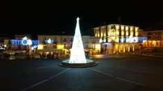 Navidad en la Plaza Mayor de Trujillo. Cáceres.