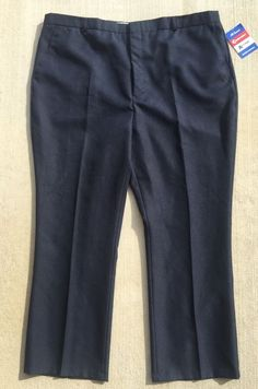 Traditional Classics Men's Dress Pants Navy Size 48 x 30 NEW NWT Free Ship  | eBay