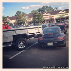 Porsche 911 crashed in Bradenton, Florida
