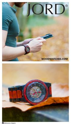 A stylish gadget for the gear head in your life! JORD has created a timepiece inspired by nature with all the power of modern mechanics. The newest offering in their Dover Series features natural Ebony & Rosewood. An arresting combination, equaled by the beauty of the 21 jewel automatic movement which can be seen through the exhibition face and back. Make time worth telling, give the gift of JORD this holiday season. Limited stock available at www.woodwatches.com !