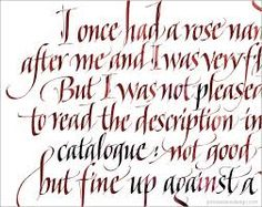 Image result for calligraphy cadel letters