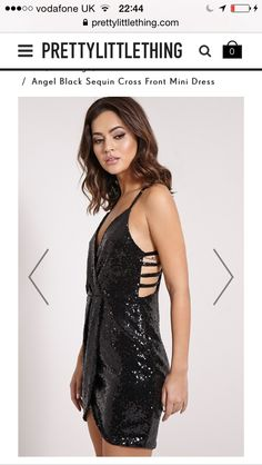 #prettylittlething #black #dress