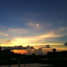 Sunset. Okinawa, Japan.