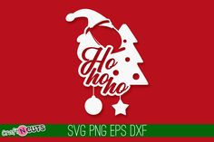 Ho #Ho #Ho #Christmas #SVG Quote #SVG Cut File #Christmas #vector #typography #svg #cricut #silhouette Ho Ho Ho Christmas Svg Quote Scan N Cut, Christmas Svg, Silhouette Studio, All Design, Cricut Design, Paper Cutting, Cutting Files, Typography, Quotes