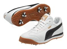 50f74e22b1abfe Puma Roma Men s Golf Shoe (White) Now Only  69.99 Was  99.99! Golf Shoes