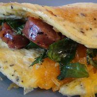 Jibalian Seven-Spice Omelette inspired by Star Trek: Voyager - recipe inside!