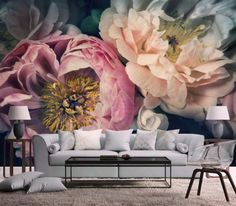 Decor: Giant Flower Wallpaper Mural