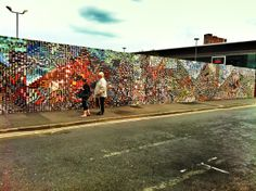 LOMO wall in Manchester