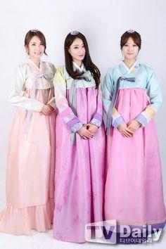HyeMi , KyungRi and MinHa