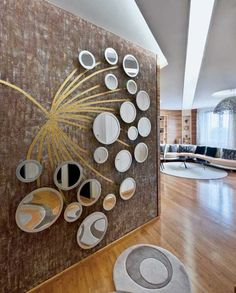 How to make unique art wall panels on the wall by your own hands, and what the best materials to make it, wall panels for stylish wall decor in your interior, wall art panel, and scenery Decor, Stunning Interior Design, Creative Interior Design, Interior Design, Beautiful Interior Design, Mirror Decor, Small House Interior Design, Stylish Wall Decor, Stylish Interior Design