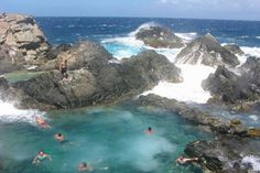 aruba natural pool...i have swam in it...amazing