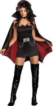 Adult Ivanna Nibble Sexy Vampire Costume - Party City