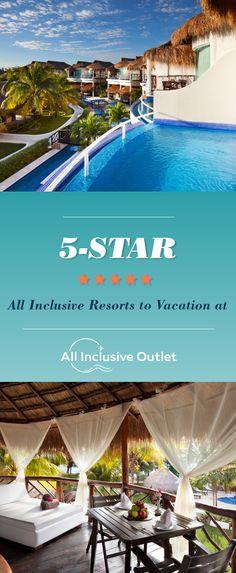 5 star all inclusive resorts | all inclusive resorts in Mexico | all inclusive resorts in Jamaica | all inclusive resorts in the Caribbean | luxury all inclusive resorts