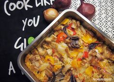 Uuni tofu vuoka- tofu casserole | lovelyveggies reetta&sonja