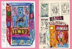 Jimbo doll by Gary Panter