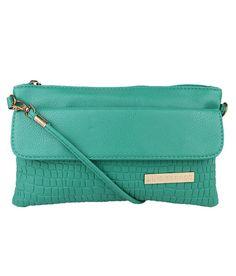 Lino Perros Lwsl00154 Green Green Sling Bags, http://www.snapdeal.com/product/lino-perros-lwsl00154-green-green/80717820