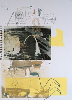 Test prints are the resulting artefacts of color and registration adjustments made when preparing to silkscreen. Mises En Page Design Graphique, Art Graphique, Photography Journal, Art Photography, Collages, Collage Art, Illustrations, Illustration Art, Hybrid Art