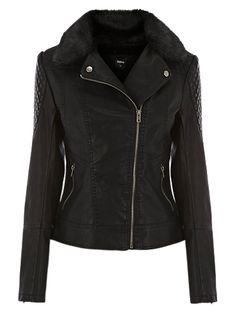 Oasis Souza Faux Leather Jacket