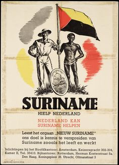 Nieuw Suriname, 1945. Dutch colony