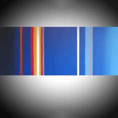 Lateral Flats triptych 3 panel wall art colorful images 3 panel triptych orange blue canvas wall abstract canvas pop abstraction 60 x Acrylic painting by Stuart Wright 3 Piece Canvas Art, Canvas Wall Art, Acrylic Painting Canvas, Abstract Canvas, 3 Panel Wall Art, Purple Canvas, Original Art For Sale, Triptych, Texture Painting