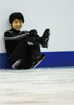 Yuzuru Hanyu practice