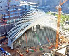 New York City, New York, PATH, Port Authority, PATH WTC station, WTC station, World Trade Center, World Trade Center station, Oculus, Santiago Calatrava, Santiago Calatrava WTC, Santiago Calatrava Oculus, NYC transport hub, NYC Oculus