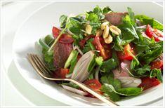 beef waterfall salad
