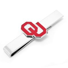 Oklahoma Sooners Tie Bar, Men's, multicolor