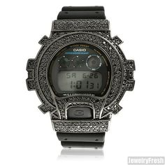 e4bfead1998b Top Quality Black Simulated Diamond G Shock Watch. G Shock WatchesCasio ...