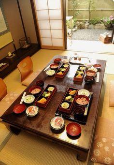 Japanese Tea House Dining Room