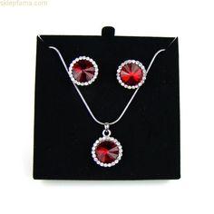 Polecamy komplet srebrnej biżuterii w obniżonej o 30% cenie.