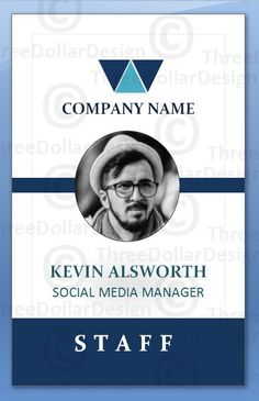 Diamond employee card Id Card Design, Badge Design, Design Art, Graphic Design, Employee Id Card, Name Badges, Pc Game, Company Names, Seals