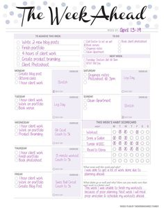Weekly Planner.Guys, as promised, a weekly planner to go with your day planner. You can view and download by clicking here. Part of a #SISC challenge was to share what helps us get back on track, and I am a list maker and love to plan ahead. This...