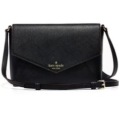 Rental kate spade new york accessories Cedar Street Large Monday Bag ($30) ❤ liked on Polyvore featuring bags, handbags, shoulder bags, purses, black, leather purse, leather cross body purse, black leather shoulder handbag, black shoulder bag ve black leather purse