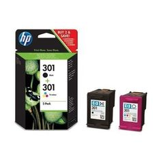 awesome HP No.301 Combo Pack Ink Cartridge - Multicolour