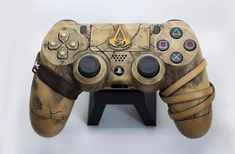 Control Playstation, Control Nintendo, Control Ps4, Pc Console, Custom Consoles, Assassins Creed Origins, Ps4 Skins, Video Game Rooms, Xbox Controller