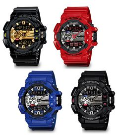 Casio G Shock G'MIX GBA 400 Watch Bluetooth Link with Smartphone Control