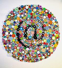 Beaux-arts tridimensionnel papier original, roulé le papier d'art, « arobas » sur Etsy, 1.162,26 €                                                                                                                                                      Plus