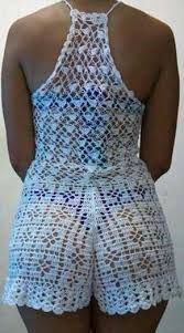 Resultado de imagen para short tejidos a crochet