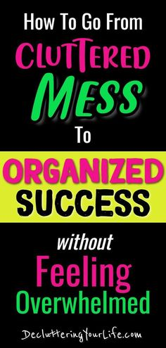 Declutter and Organize! Change From Cluttered Mess To Organized SUCCESS Without Feeling Overwhelmed, Homemade Shower Cleaner, Clutter Organization, Organization Ideas, Household Organization, Organizing Life, Mattress Cleaning, Declutter Your Life, Useful Life Hacks, Feeling Overwhelmed