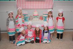 "Photo 30 of 44: Baking and Cooking / Birthday ""Madison's Bake Shop"" 