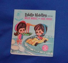 Liddle Kiddles Millie Middle Babe Biddle Booklet Pamphlet Comic Book Vtg Mattel | eBay