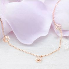 Rakuten: Diamond pink gold bracelet Cem Kelly K10 pink gold diamond flower motif bracelet-diamond-[the jewelry which wants to put on in summer]- Shopping Japanese products from Japan