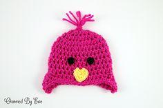 Ravelry: Preemie Chick Hat pattern by Janaya Chouinard