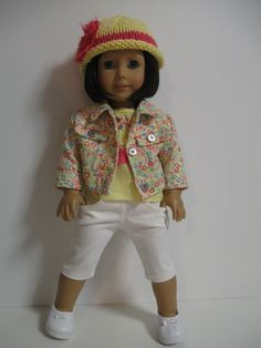 American Girl Doll Clothes- Let it Shine. $36.00, via Etsy.