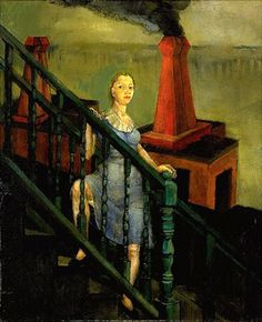 Philip Evergood - Turmoil, 1942