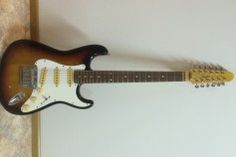 Fender Stratocaster XII 12-string wonder, first series (MIJ). Still has original strings in it!