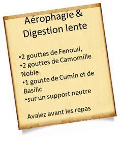 aerophagie digestion lente Aérophagie : Remèdes efficaces avec les huiles essentielles