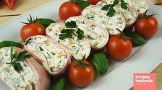 Zdjęcie 10 pysznych i prostych PRZEKĄSEK NA SYLWESTRA! #3 Caprese Salad, Sushi, Appetizers, Vegetables, Impreza, Ethnic Recipes, Food, Party, Appetizer